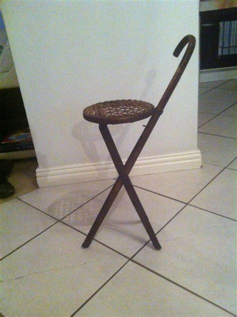 walking stick stool antique furniture collection