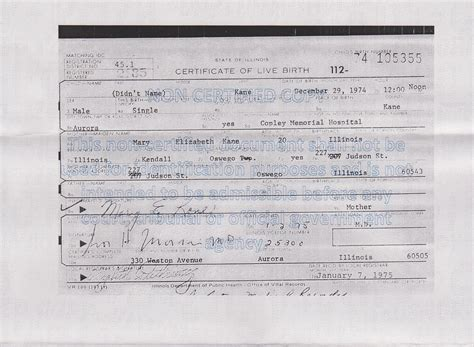 Illinois Birth Records Search Illinois Birth Records