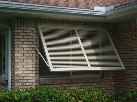 Shutter Awnings by Hurricane Shutters Awning Contractors Designers Inc