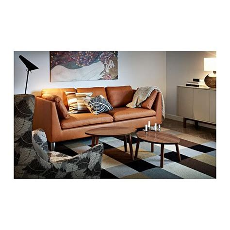 ikea stockholm sofa leather stockholm nest of tables set of 2 walnut veneer nesting
