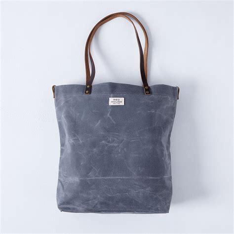 Traveler Bag Chooci 0701 waxed canvas tote on food52
