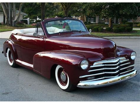 1947 chevrolet stylemaster information and photos
