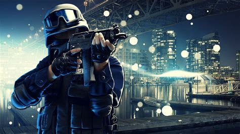 swat army point blank  game wallpaper hd image