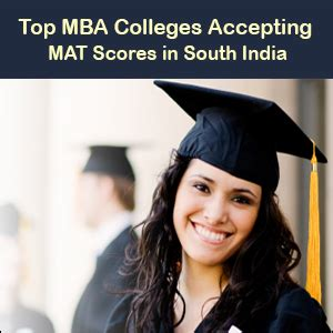 Mat For Mba In India by Top Mba Colleges Accepting Mat Scores In South India