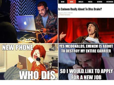 Eminem Drake Meme - 25 best memes about diss eminem and drake diss