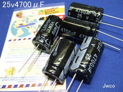 jwco capacitors any capacitor jwco 28 images 8pcs 2200uf 25v electrolytic capacitors 105c jwco 13x21 usa seller