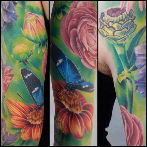 lawrence tattoo company abraxas co carlos ransom floral sleeve