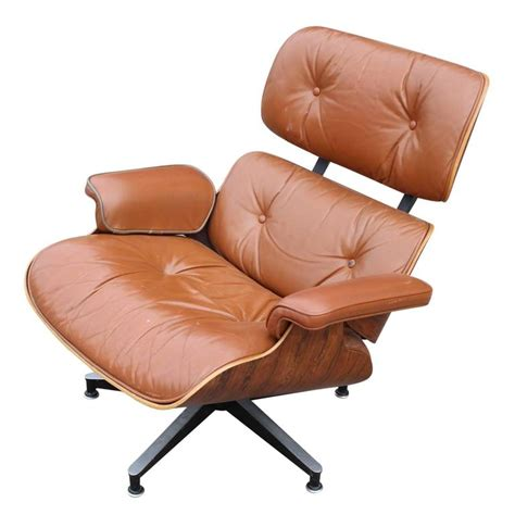 light brown leather chair modern eames rosewood light brown leather lounge chair at