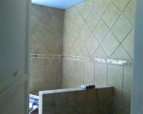 shower design using 12x12 tiles from lowes shower