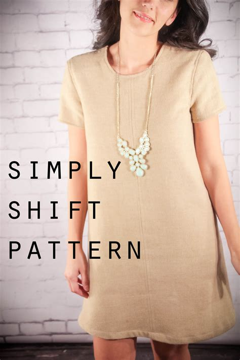 free pattern simple shift dress simply shift dress sewing projects burdastyle com