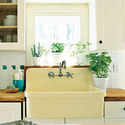 Yellow Kitchen Sink Butter Yellow Farmhouse Sink