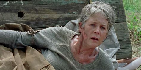 2016 from the walking dead carol the walking dead hired twins to play zombies on sunday s