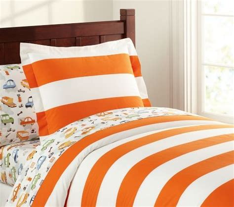 Orange And White Bedding by So Angry They No Longer This Orange And White