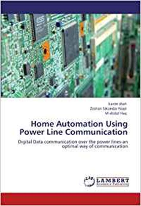 home automation using power line communication digital