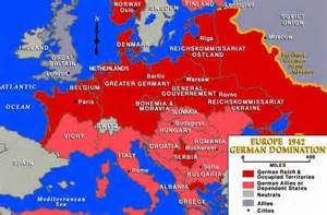 German Map Of Europe by A Europe Map From 1942 Shows German Reich And Occupied