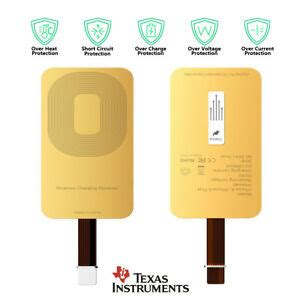 qi wireless charger adapter charging receiver  samsung lg moto zte htc iphon ebay