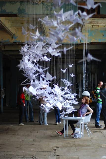 Origami Installation - origami installation my style