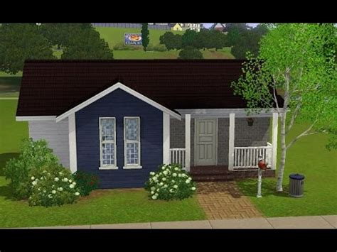 sims 3 house building starter home home sweet home