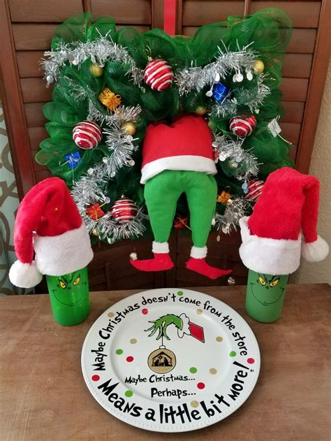 grinch inspired decorating grinch crafts and diy decorations up leap of faith crafting