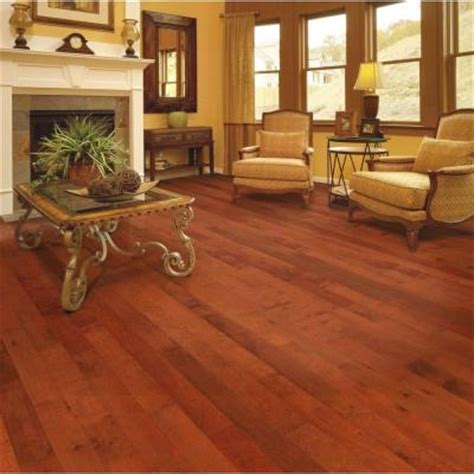 4 3 4 quot high gloss birch cherry home legend floor engineered hardwood