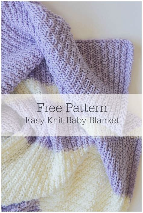 knitting patterns free and easy the 25 best knitting baby blankets ideas on pinterest