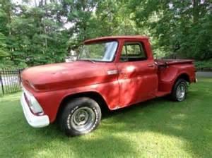 1965 Chevy Truck Custom Wheels Sell Used 1965 Chevrolet Custom C10 Stepside Wheel