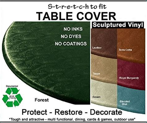 game table covers fitted fitted round elastic edge vinyl tablecloth table cover