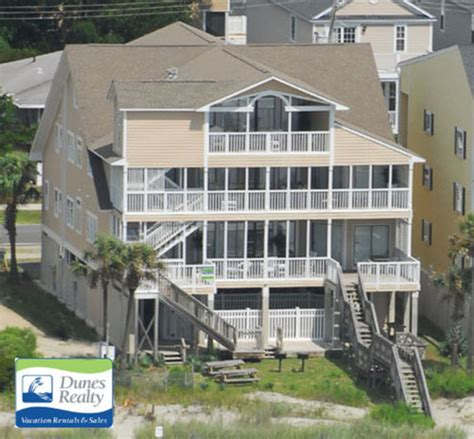 Surfside Bch Rental Beach Home The Harris House Myrtle Cheap Myrtle House Rentals