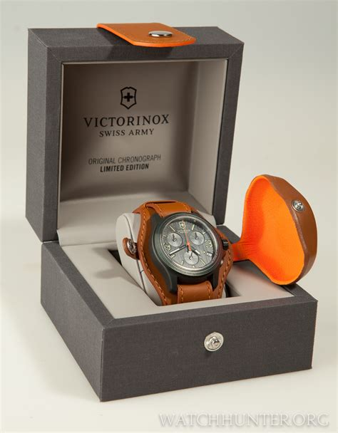 Box Swiss Army Limited meet the victorinox swiss army original chronograph