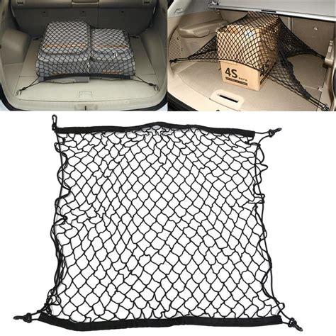 Car Trunk Cargo Net Luggage Mesh Net 102 X 38cm 1piece sale universal car trunk luggage storage cargo elastic mesh net 70 x 70cm with