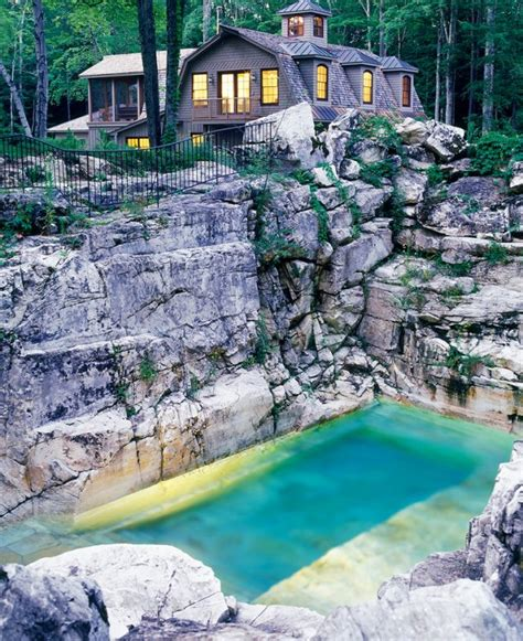 American Backyard Pools Reviews Is This Quarry The Most Beautiful Backyard Pool In America