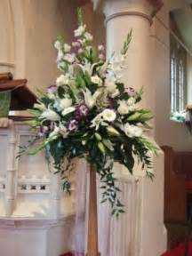 Pedestal Flower Arrangements 1000 Ideas About Altar Flowers On Pinterest Church