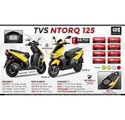 TVS Ntorq 125  Indias 1st Connected Scooter