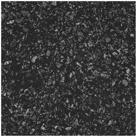 Arbeitsplatte 60 cm x 3,9 cm terrazzo schwarz (MK 171