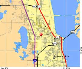 where is titusville florida on a map map 32796 zip code titusville florida profile homes