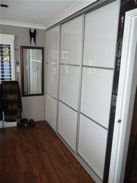 Diy Sliding Wardrobe by Diy Sliding Wardrobe Doors Custom Made Diy Doors