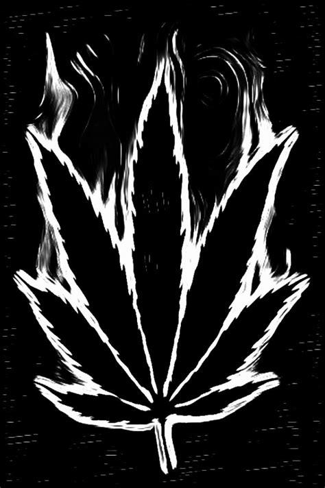 black and white weed wallpaper black and white pot leaf highroulette com marijuana