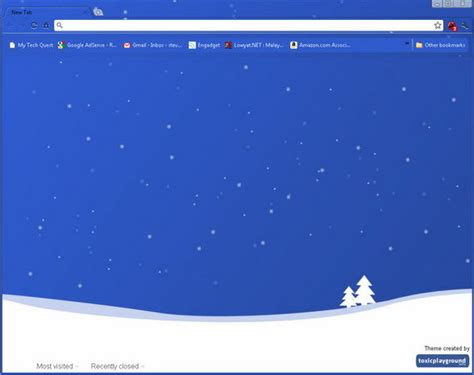 themes for google chrome christmas 5 interesting christmas themes for google chrome
