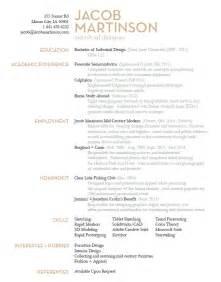 industrial design resume templates