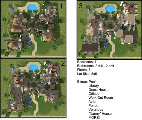 The Sims 3 Castle Floor Plans Sims 3 Castle Floor Plans