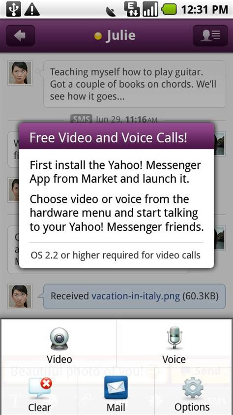 yahoo massenger apk yahoo messenger in 1mobile