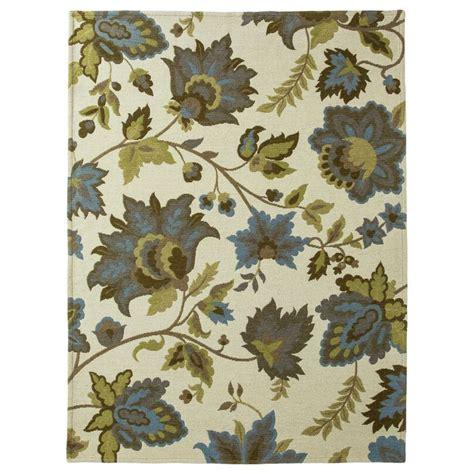 target floral rug threshold cabana floral area rug 5 x7