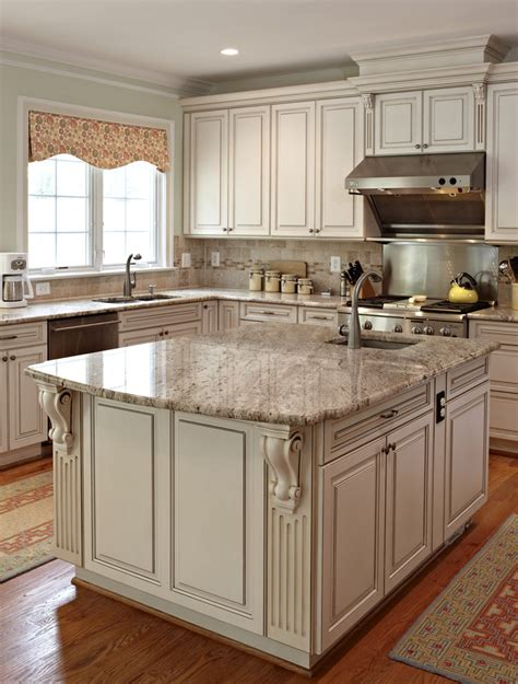 kitchen with cream cabinets new venetian gold granite kitchen traditional with granite
