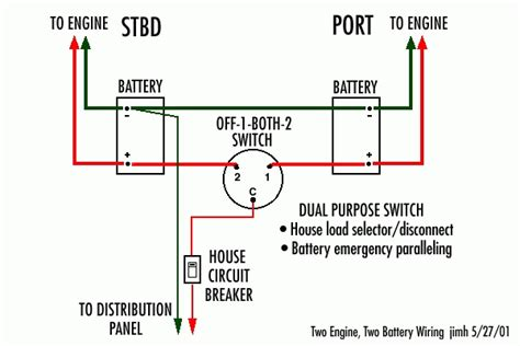 boat battery switch wiring diagram wiring diagram and
