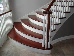 Brazilian Cherry Stairs by Brazilian Cherry Stairways And Staircases