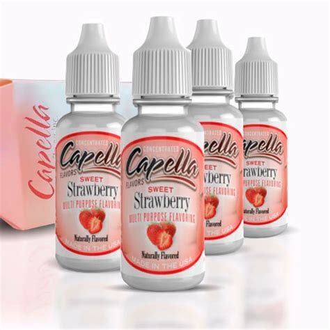 Capella Sweet Strawberry Flavor capella flavors sweet strawberry 13ml ecigswholesaler