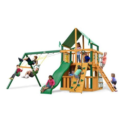 swing academy play sets swing sets outdoor backyard wooden