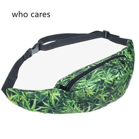 Pouch Tas Pouch 3 sale 3d print green waist bag pouch pack belt bags pocket fashion bolso