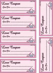 Love coupons valentines crafts free printable ideas from family