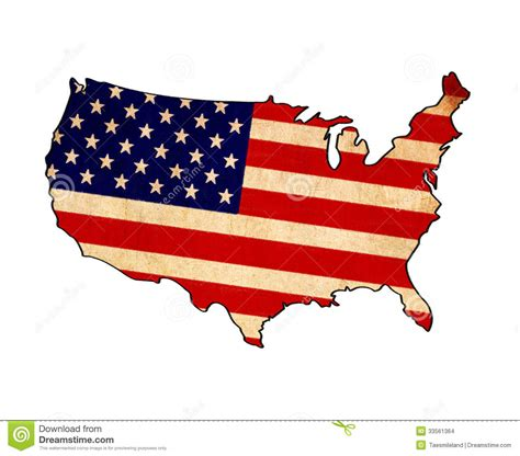 usa map drawing usa map on usa flag drawing stock images image 33561364